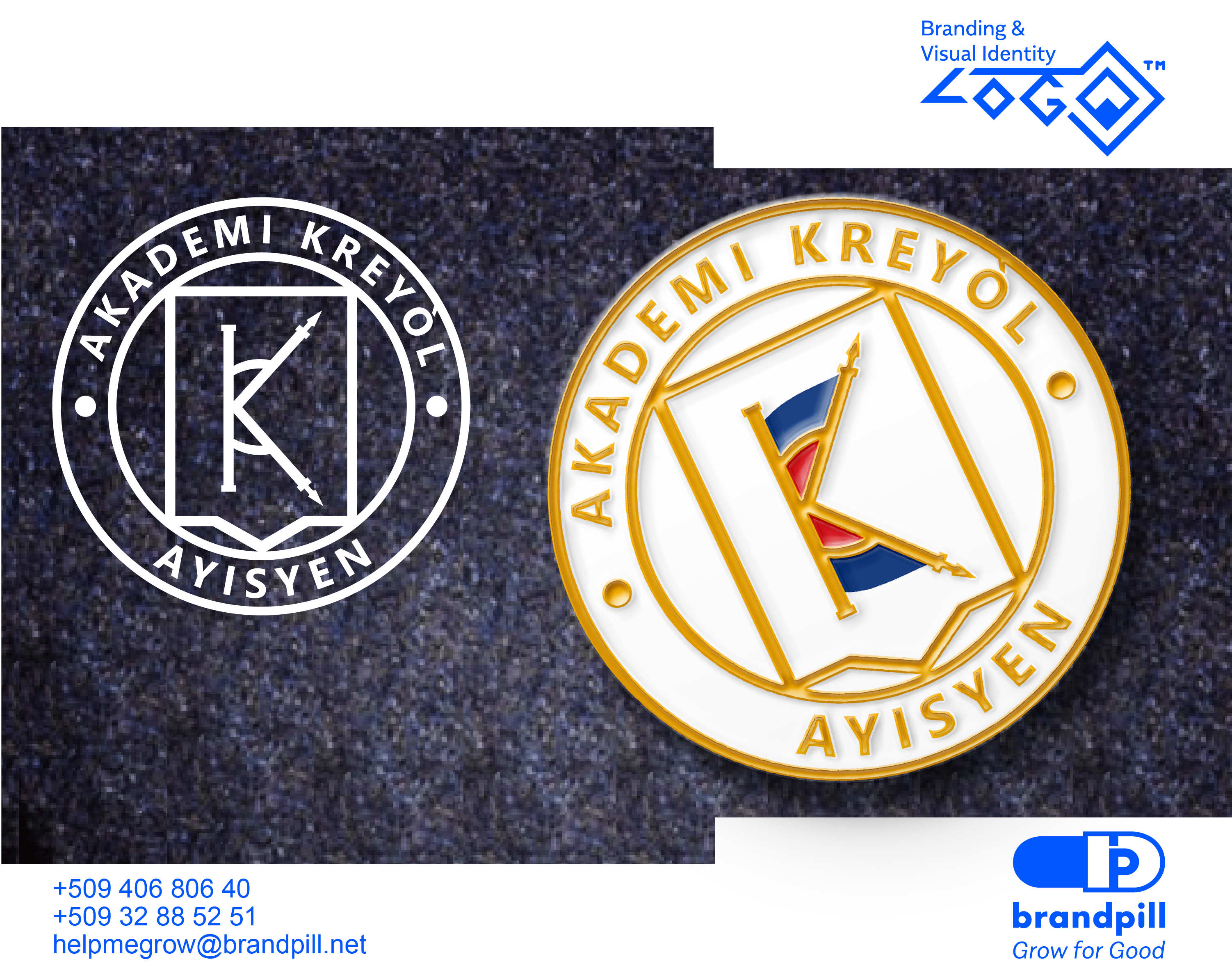 Akademi Kreyol Ayisyen Branding by brandpill