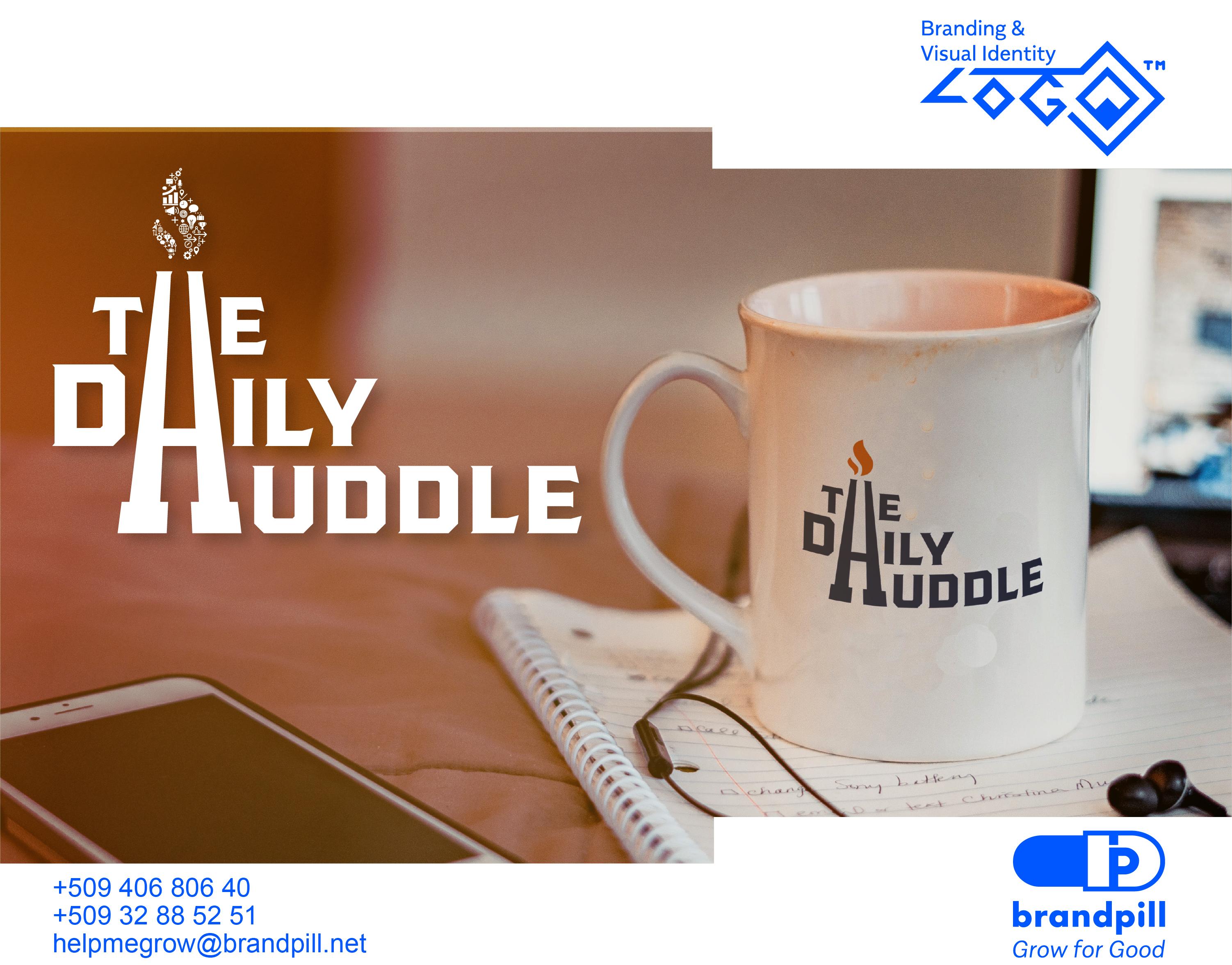 Daily Huddle Branding by brandpill